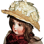 Sweet Little Early Vintage Fashion Doll Hat