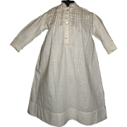 Pretty Antique Cotton Gown / Chemise for your Bebe's Trousseau