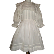 Wonderful Dress for a Large Antique Doll
