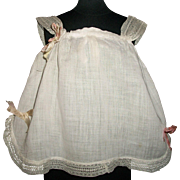 Lovely Antique Doll Chemise, French or German Bebe Trousseau