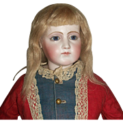 Nice Small Blonde Mohair Doll Wig