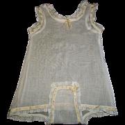 Pretty Antique Batiste Undergarment, French or German Bebe
