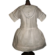 Lovely Early Vintage Organdy Doll Dress w Chemise