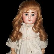 Nice Vintage Doll French Wig, Finger Curls