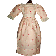 Pretty Pink Rosebud Doll Dress, China, Lady