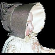 Small Doll Vintage Prairie Bonnet