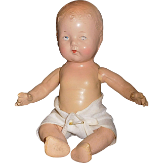 "Cute 12"" Composition Baby Doll, TLC"
