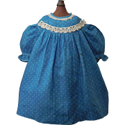 Sweet Early Cotton Doll Dress, Rag, Cloth