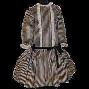 Pretty Vintage Drop Waist Doll Dress