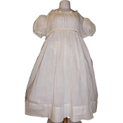 Antique Dress for a Large Doll, Damage