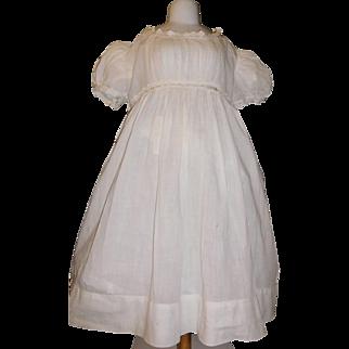 Antique Dress for a Large Doll, Damage