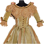 Lovely  Gown for a Large Lady / Fashion Doll