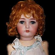 "Sweet 19"" Simon Halbig, K*R Antique German Doll"
