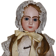 Wonderful Antique Doll Bonnet