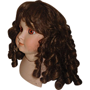 Pretty Vintage Synthetic Doll Wig, Curls