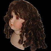 Pretty Vintage Synthetic Doll Wig, Curls