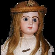 Fabulous Antique ca 1880s Straw Hat