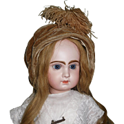 Lovely Antique French Bonnet for A large Doll
