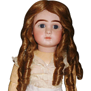 Pretty Vintage Finger Curled Doll Wig