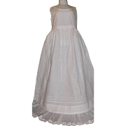Lovely Antique Petticoat, Christening, Long Dress