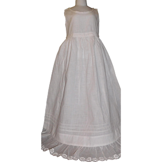 Lovely Antique Petticoat, Christening, Long Dress