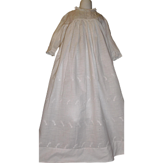 Large Antque Doll Gown / Dress