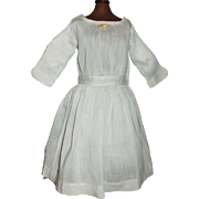 Nice Antique Silk Doll Dress, Bar Pin