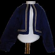 Nice Vintage Made Wool Doll Jacket