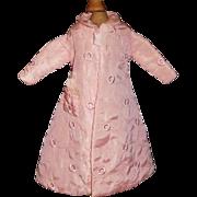 Pretty Vintage Pink Satin / Silk Fashion, Lady Doll Robe