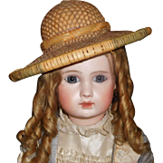 Nice Doll Early Straw Hat
