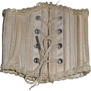 Antique Doll Corset for a French Fashion