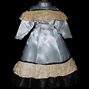 Lovely Vintage Dress w Petticoat French Fashion / Lady