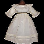 Nice Early Organdy Doll Dress