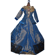 Lovely Antique Fashion 2 Pc Doll Dress