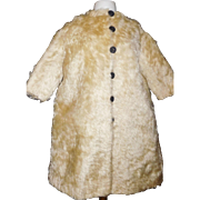 Lovely Antique Mohair Coat for a Large Doll