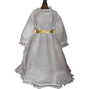 Nice Early Swiss Dot Doll Dress
