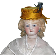 Wonderful Antique Silk Hat for a French Fashion
