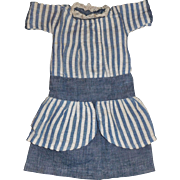 Nice Early Chambray Doll Dress