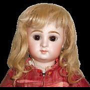 Wonderful Antique Blond Mohair Doll Wig
