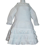 Lovely Antique Dress for a Large Doll