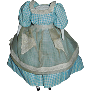 Small Replacement China Doll Body, Dressed