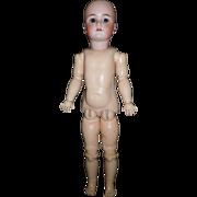 "24"" Heinrich Handwerck, Simon & Halbig Antique Doll To be Dressed."