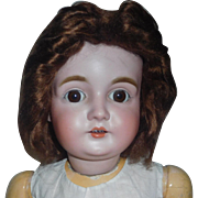 Antique Mohair Doll Wig, To be Styled