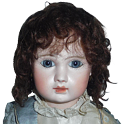 Sweet Vintage Mohair Doll Wig
