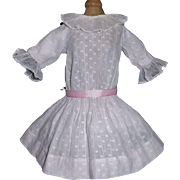 Pretty Pink Dotted Early Doll Dress