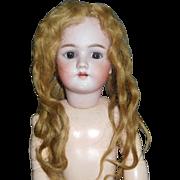 Nice Antique Human Hair Doll Wig