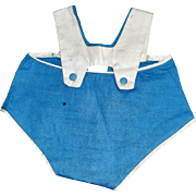 Cute Early Vintage Doll Sun Suit