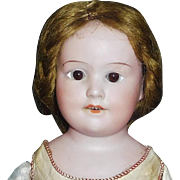 Small Antique Mohair Doll Wig
