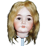 Lovely Antique Blonde Human Hair Doll Wig