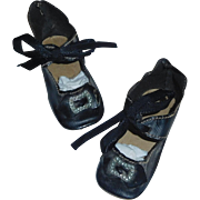 Nice Pair of Antique Doll Shoes